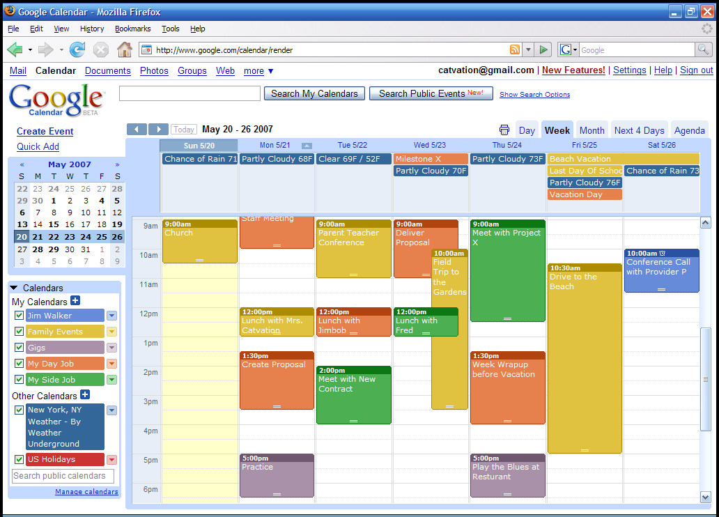Outlook Calendar Organization : Screenshots and videos oggsync